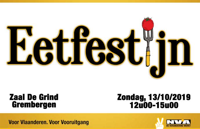 Eetfestijn N-VA Dendermonde