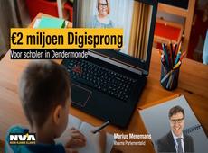€2 miljoen in Digisprong-middelen in Dendermonde