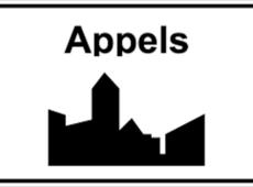 Verkeersbord Appels