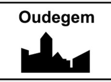 Bord Centrum Oudegem