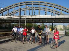 Actie Jong N-VA voor een fietssnelweg tussen Dendermonde, Lebbeke en Opwijk