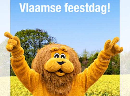 Fijne Vlaamse feestdag